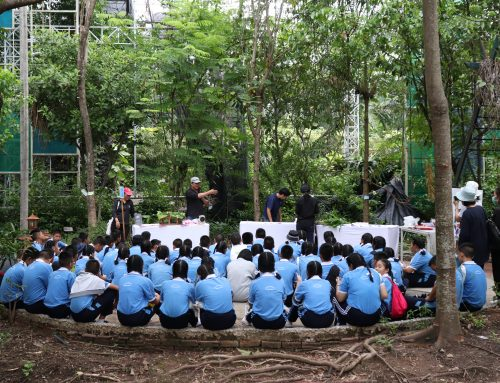 นักเรียนชั้นมัธยมศึกษาปีที่ 3 เข้าร่วม โครงการกิจกรรมส่งเสริมการเรียนรู้การใช้ประโยนช์จากพืชสมุนไพรในท้องถิ่น ปีที่ 2