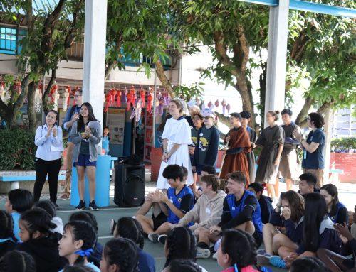 นักเรียนชั้น ป.5-6 เรียนร่วมกับนักเรียนโรงเรียนนานาชาติ Grace International School 6 ธันวาคม 2562